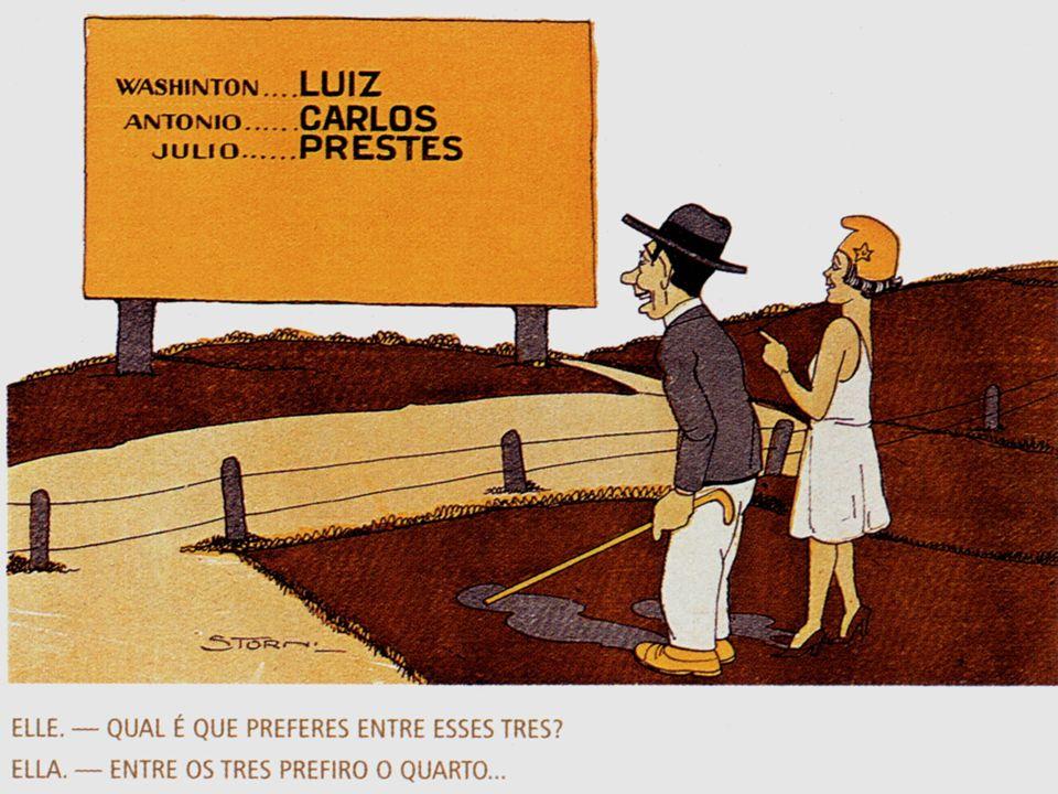 Governo Constitucional (1930 – 34) 1935: Intentona Comunista 1935: Intentona Comunista Eleições de 1938: – –Armando de Salles Oliveira (SP) – –José Américo de Oliveira (PB)