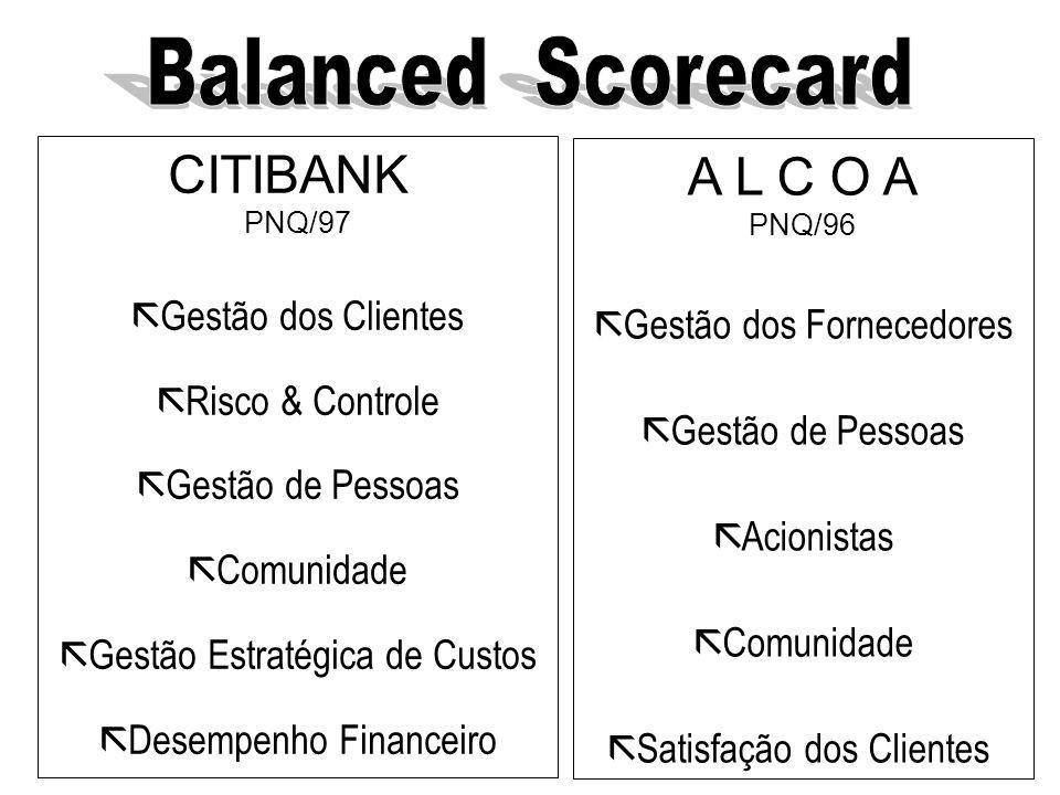 Balanced Scorecard É uma ferramenta que combina uma filosofia de trabalho com uma adequada síntese de informação e que possibilita uma visão ampla da