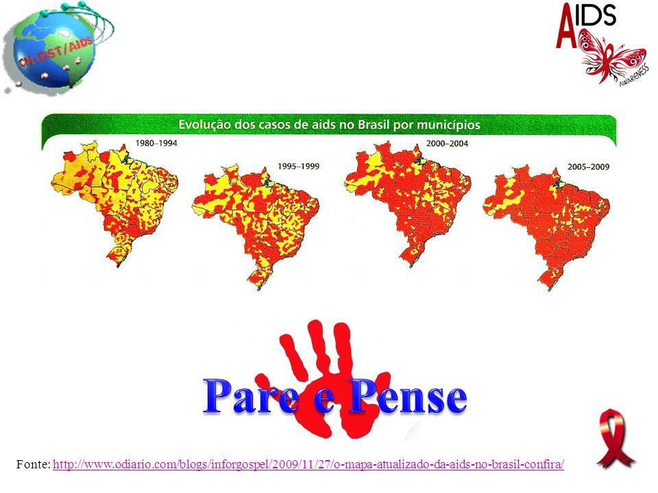 Fonte: http://www.odiario.com/blogs/inforgospel/2009/11/27/o-mapa-atualizado-da-aids-no-brasil-confira/http://www.odiario.com/blogs/inforgospel/2009/1