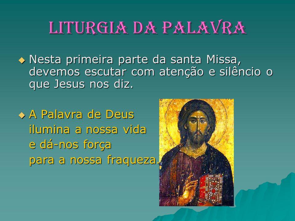 E a parte central e mais importante da Missa.