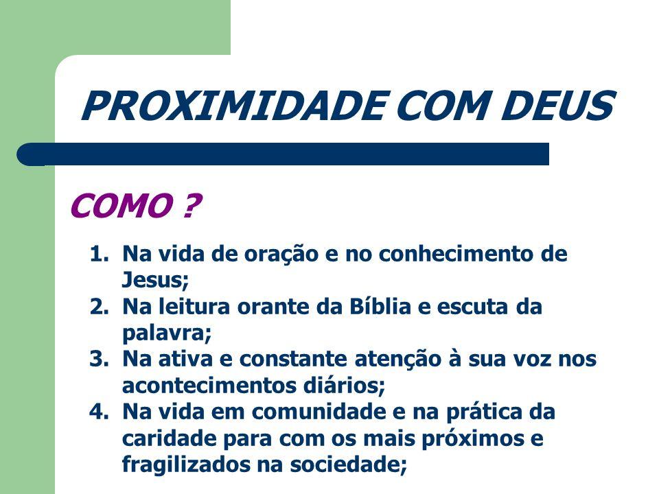 PROXIMIDADE COM O OUTRO...POR QUE .