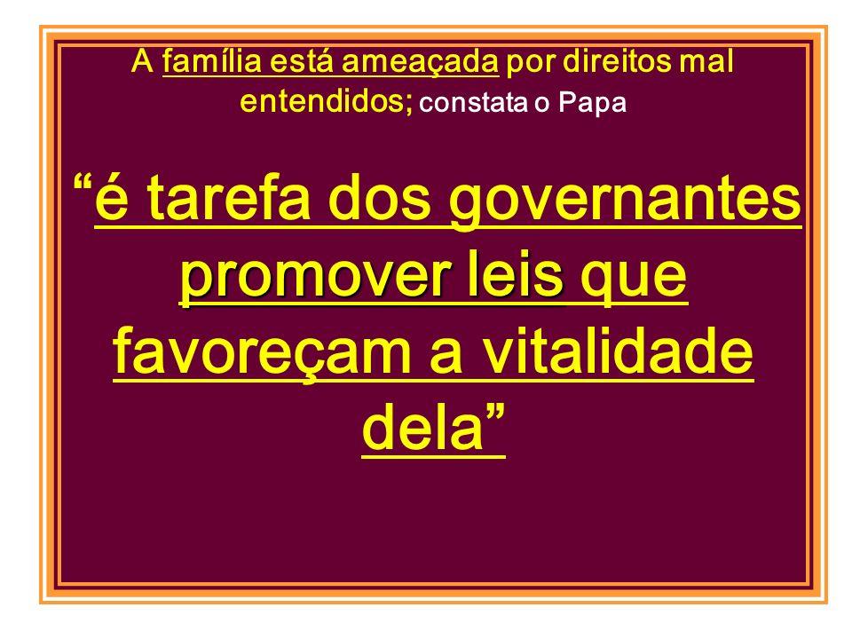 texto em defesa da famíliatexto em defesa da família modelo da família sustentado pelo Vaticano O objetivo político, é o de mobilizar os deputados cat