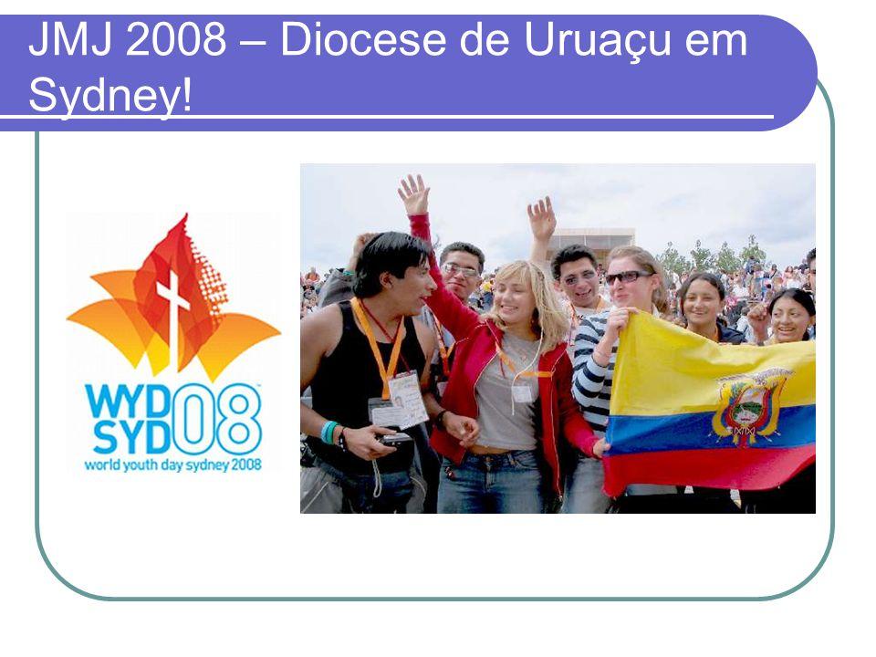 JMJ 2008 – Diocese de Uruaçu em Sydney!