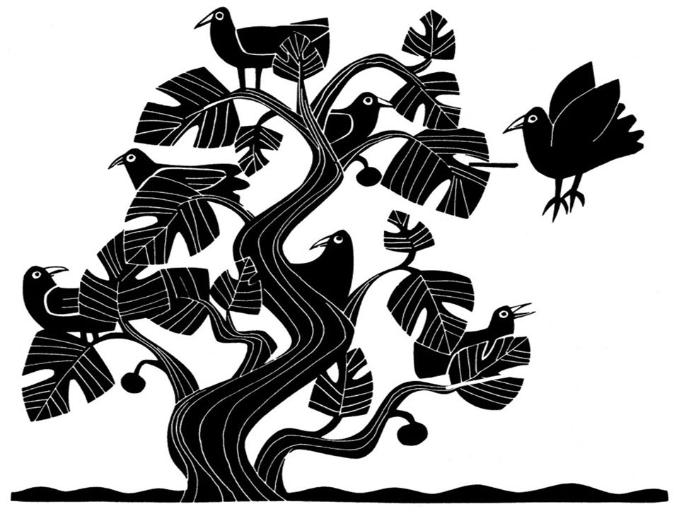O pequeno rebento crescerá e se tornará um cedro magnífico, no qual os passarinhos farão seus ninhos.
