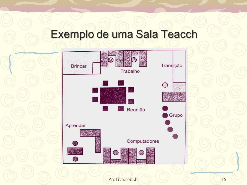 Exemplo de uma Sala Teacch 16Prof iva.com.br