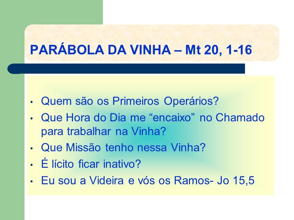 MISSÃO – SER TESTEMUNHA.