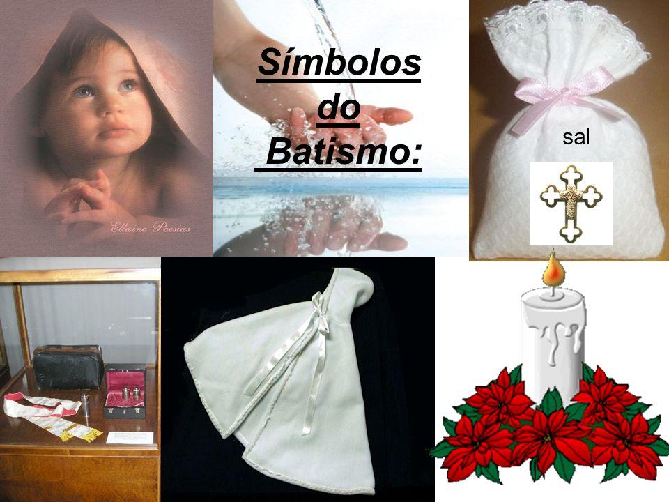 sal Símbolos do Batismo: N o m e