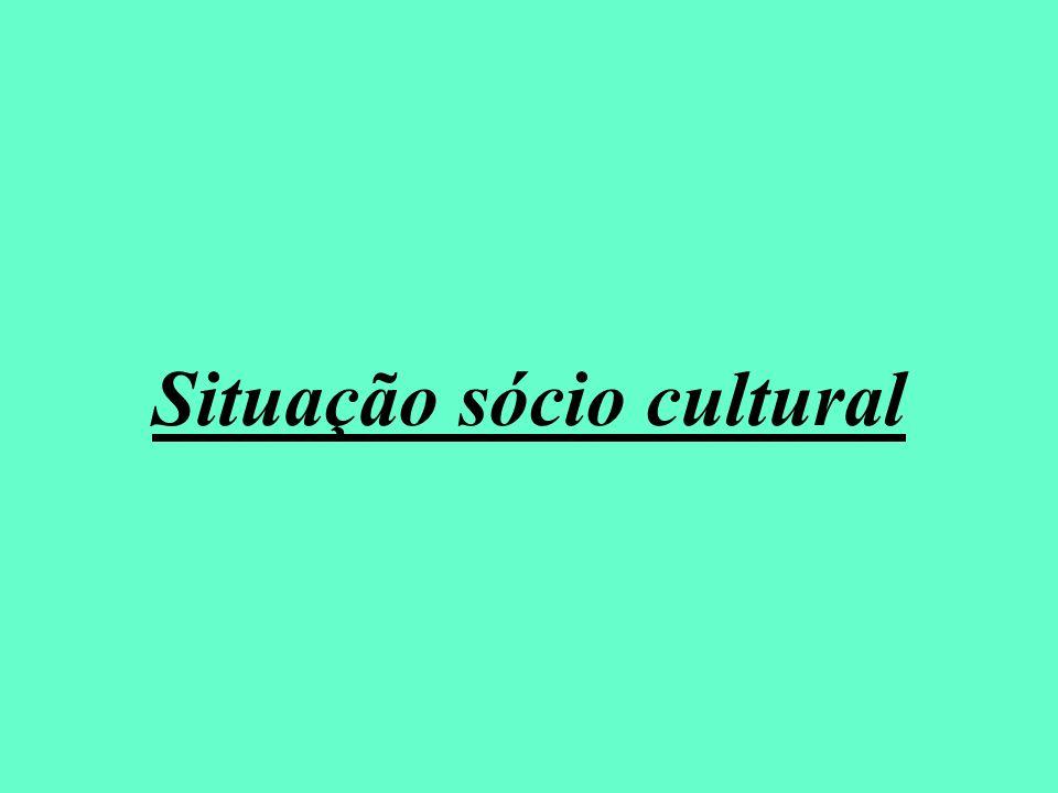 Situação sócio cultural