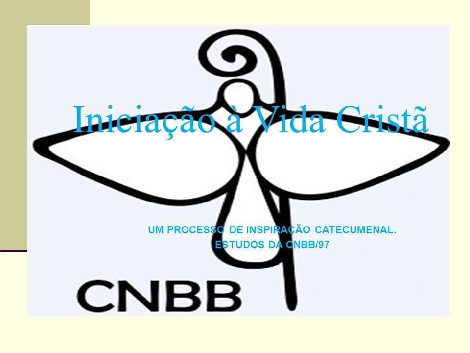 Iniciação à Vida Cristã UM PROCESSO DE INSPIRAÇÃO CATECUMENAL. ESTUDOS DA CNBB/97