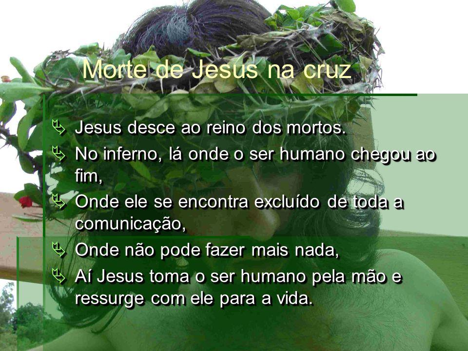 Jesus desce ao reino dos mortos. Jesus desce ao reino dos mortos.