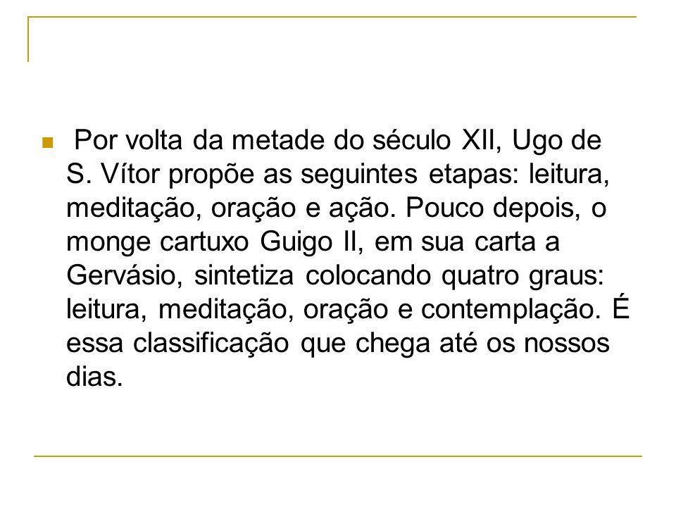 Por volta da metade do século XII, Ugo de S.