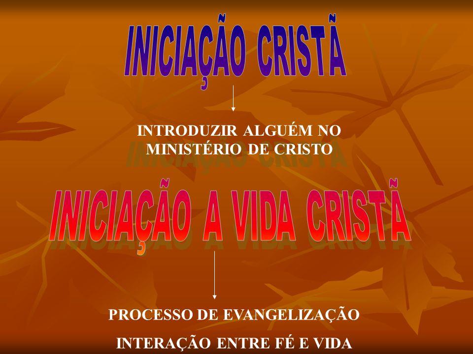 Iniciar na vida cristã os que querem abraçar a fé é o grande desafio da paróquia (DA).