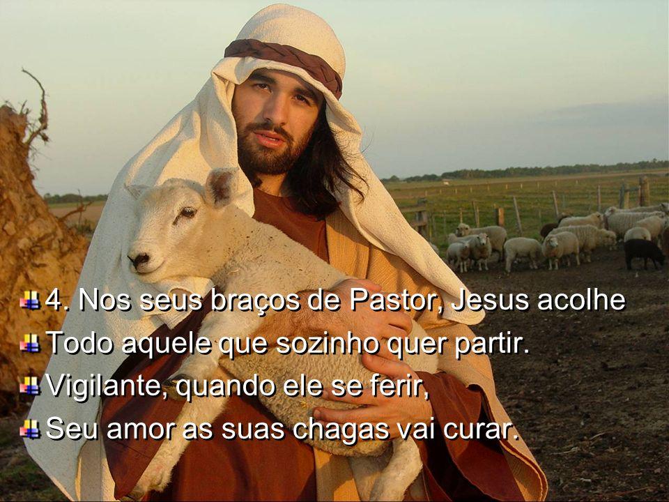 /:Ele é o bom Pastor, que me ensina e sabe amar. Todo o ser vai renovar, eu confio em seu amor:/
