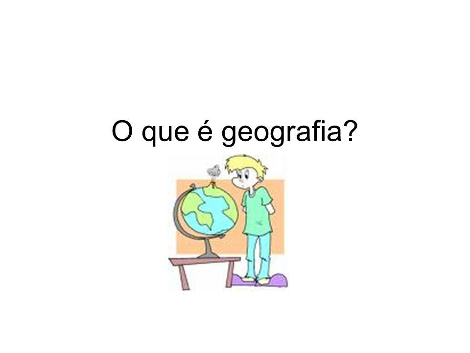 A Geografia é uma ciência que tem por objeto de estudo o espaço;ciênciaespaço Para Vidal de La Blache Geografia é a Ciência dos Lugares,Vidal de La Blache já Hartshorne diz ser a ciência da diferenciação de áreas.