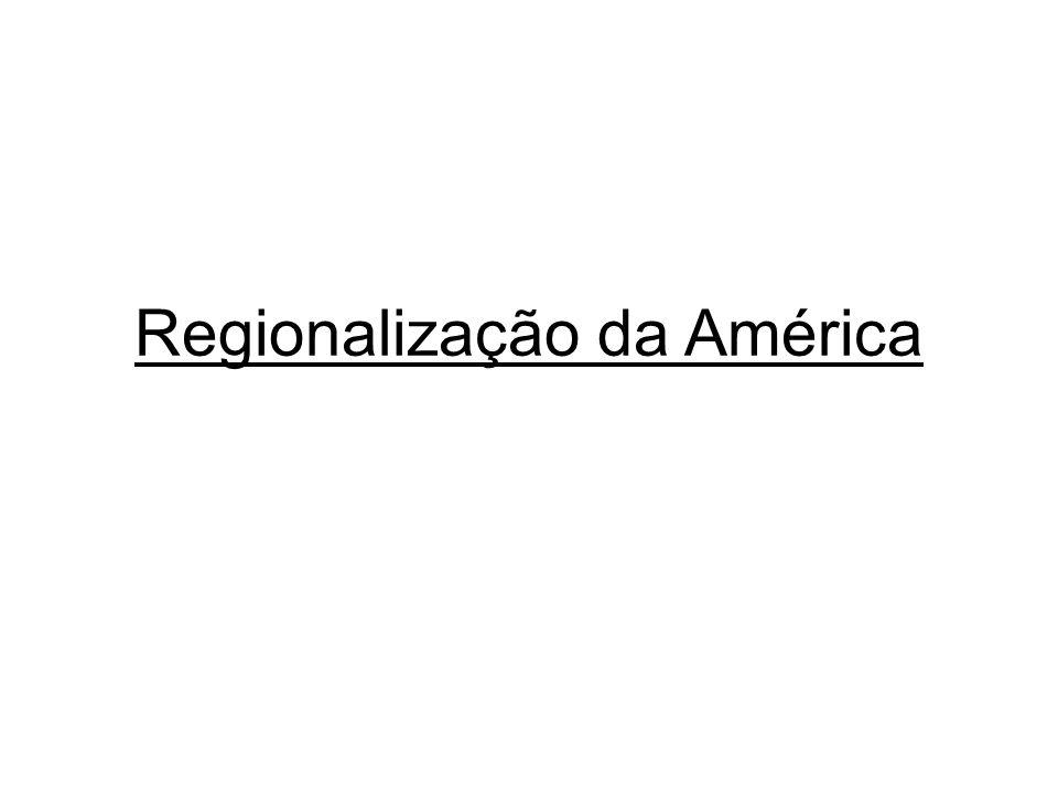 Regionalização da América