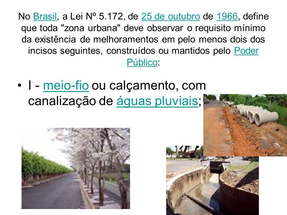 No Brasil, a Lei Nº 5.172, de 25 de outubro de 1966, define que toda