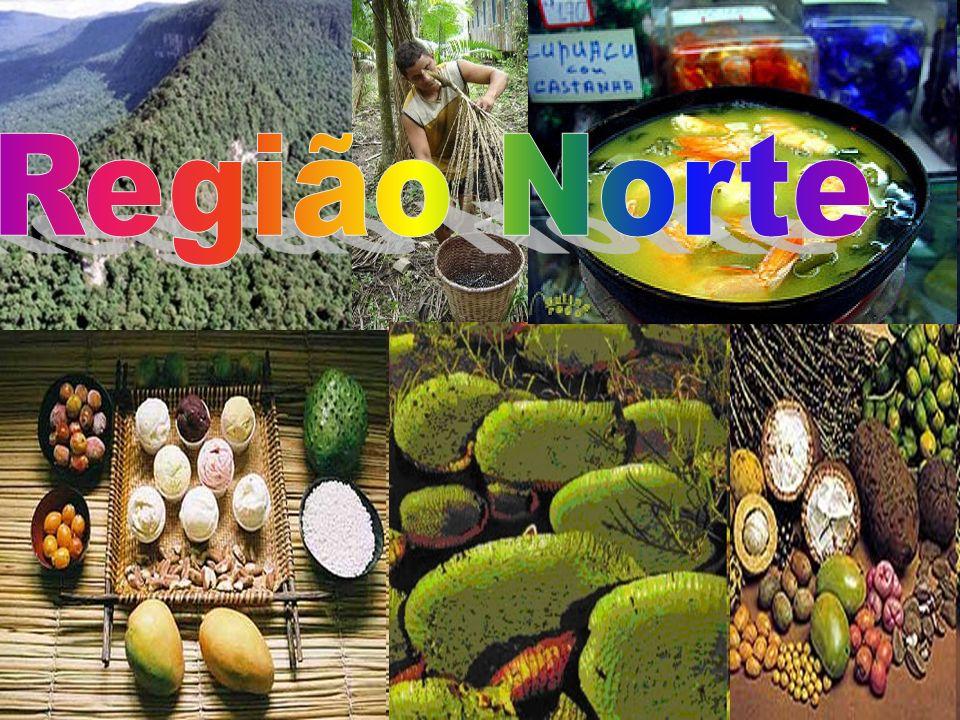 A região Norte Maior Região do Brasil, o Norte é formado pelos estados do Acre, Amapá, Amazonas, Pará, Rondônia, Roraima e Tocantins.