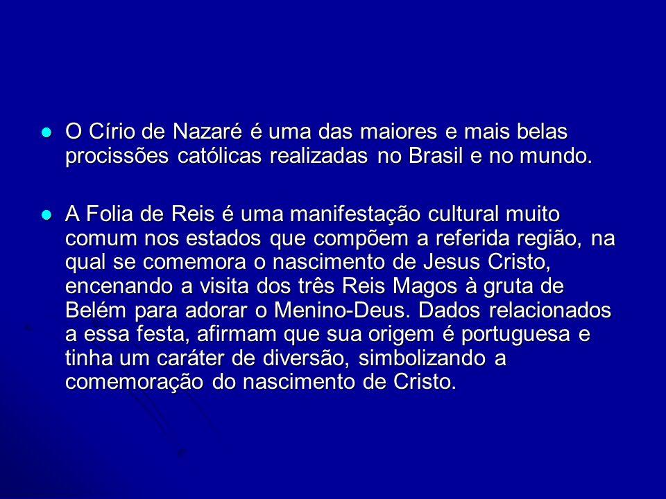 O Círio de Nazaré é uma das maiores e mais belas procissões católicas realizadas no Brasil e no mundo. O Círio de Nazaré é uma das maiores e mais bela