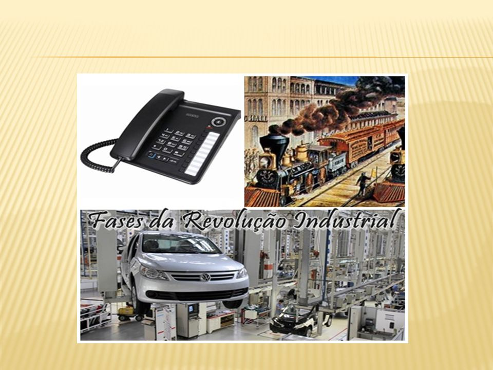 A Revolução Industrial consistiu em um conjunto de mudanças tecnológicas com profundo impacto no processo produtivo em nível econômico e social. Inici