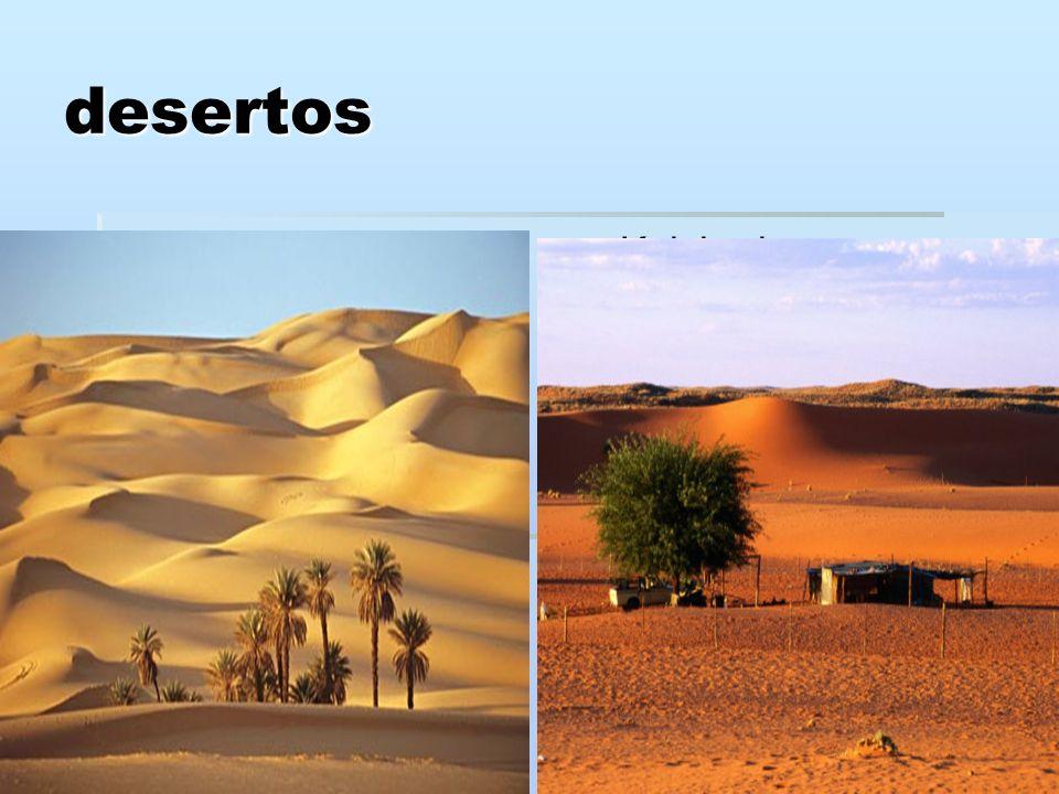 desertos Saara Saara Kalahari Kalahari