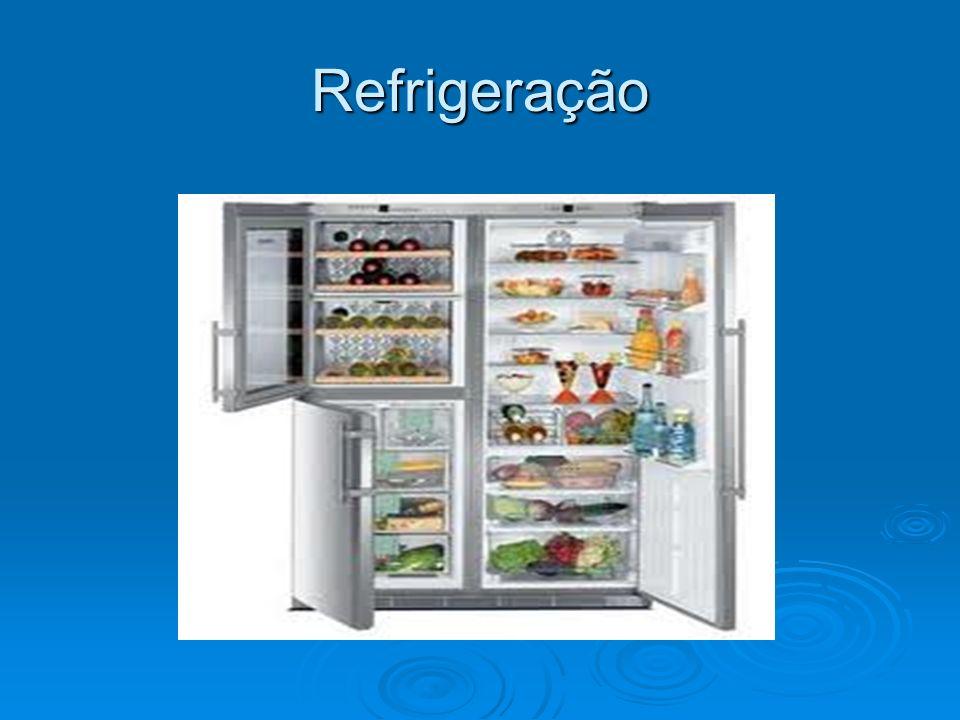 congelamento O congelamento é uma técnica muito usada para conservar os alimentos até que eles cheguem até o consumidor.