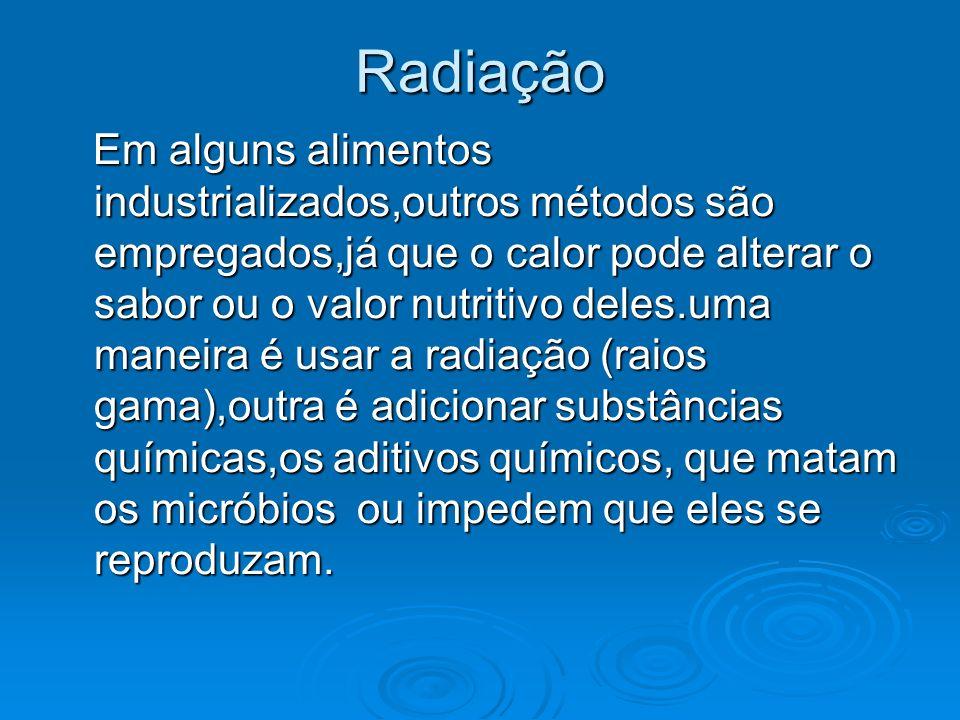 Radiação Radiação