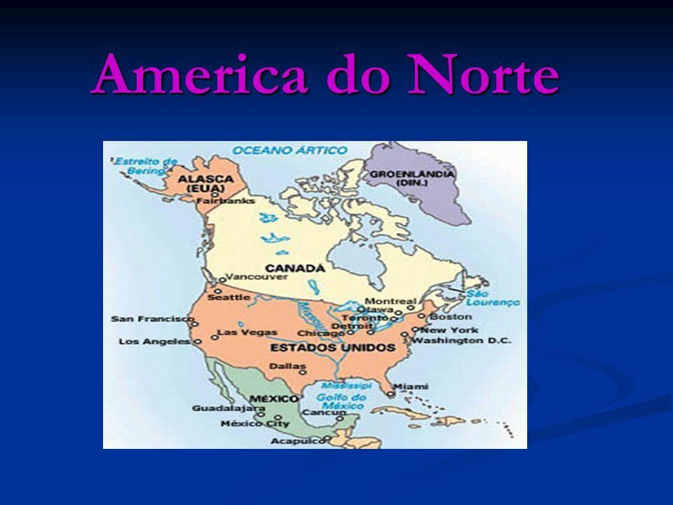 Clima A América do Norte é um subcontinente que compreende a porção setentrional do continente americano, que inclui ainda a América Central e a América do Sul.