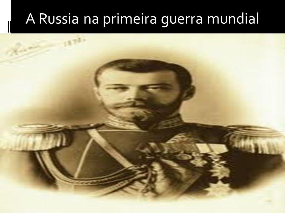 A Russia na primeira guerra mundial