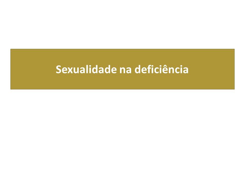 Sexualidade na deficiência