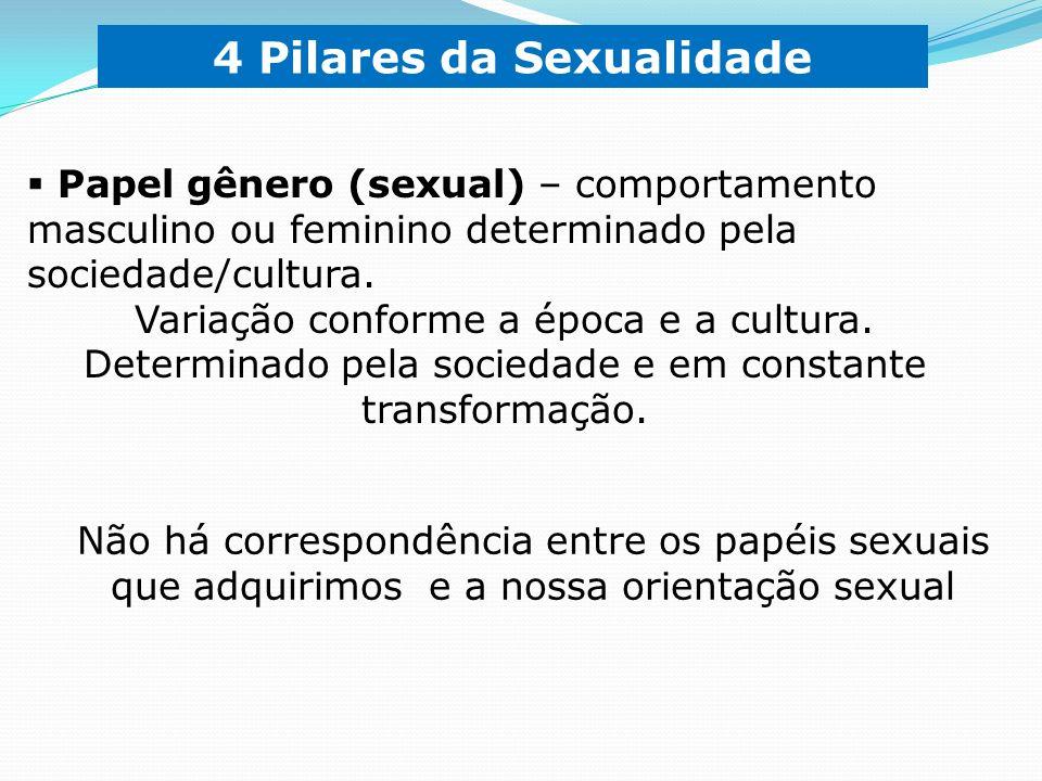 É o conjunto de valores, atitudes, papéis, práticas ou características culturais baseadas no sexo biológico.