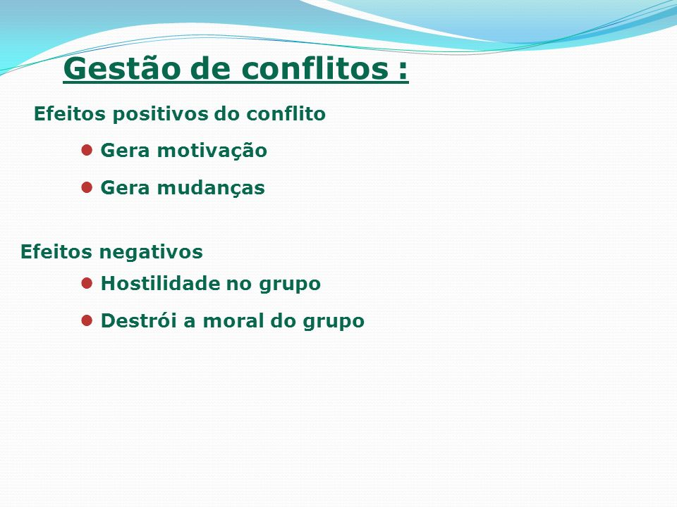 FIM NEGOCIAÇÃO E GESTÃO DE CONFLITOS - Denise Lila Lisboa Gil 2003 Gestão de Conflitos Organizacionais - Jefferson Menezes de Oliveira 2006 BIBLIOGRAFIA