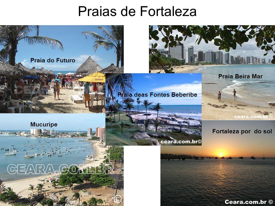Praia do Futuro Praia Beira Mar Mucuripe Fortaleza por do sol Praia deas Fontes Beberibe