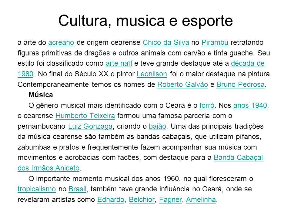 Cultura, musica e esporte a arte do acreano de origem cearense Chico da Silva no Pirambu retratandoacreanoChico da SilvaPirambu figuras primitivas de