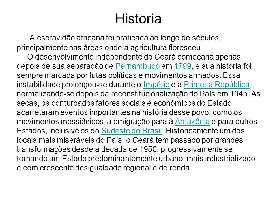 Historia A escravidão africana foi praticada ao longo de séculos, principalmente nas áreas onde a agricultura floresceu. O desenvolvimento independent