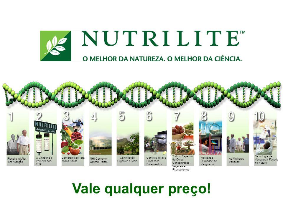 NHI Center for Optima Helath Vale qualquer preço! Pioneira e Líder em Nutrição O Criador e o Primeiro nos EUA Compromisso Total com a Saúde Certificaç