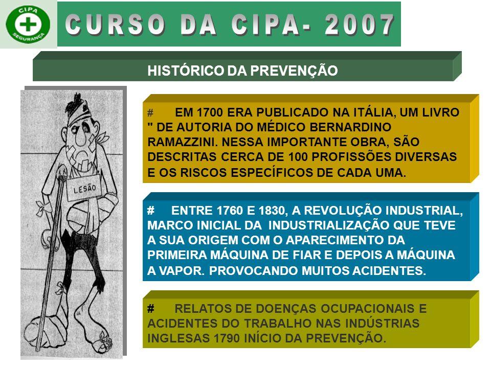 # EM 1700 ERA PUBLICADO NA ITÁLIA, UM LIVRO DE AUTORIA DO MÉDICO BERNARDINO RAMAZZINI.