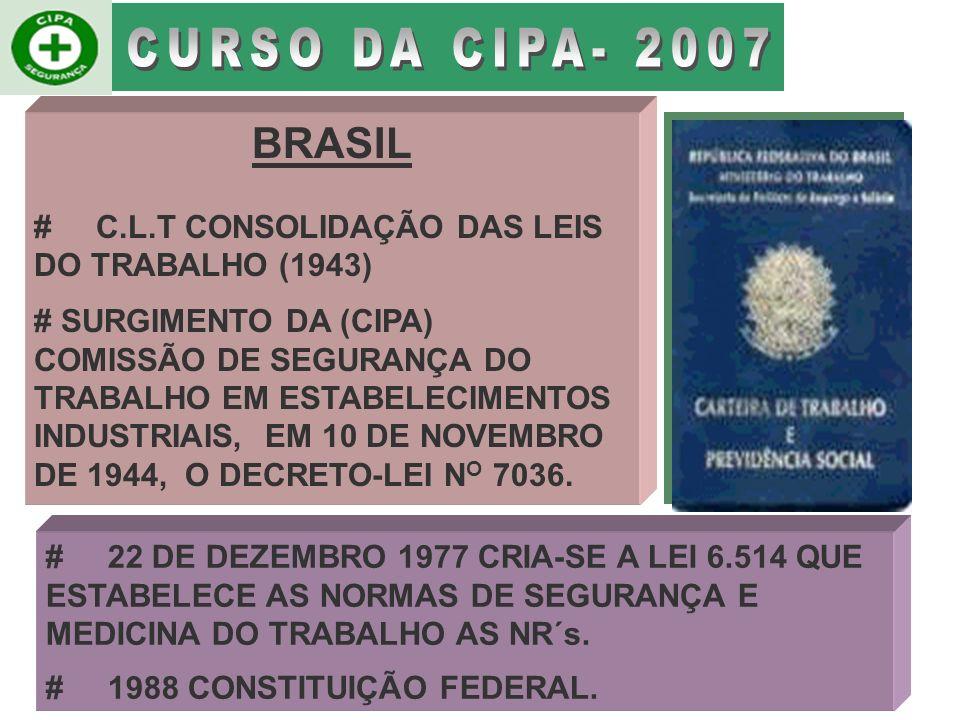 TAXA DE ACIDENTES FATAIS POR GRUPOS DE 10.000 SEGURADOS SEGUNDO PAÍSES SELECIONADOS PAQUISTÃO 8,601996 INDIA3,40 1997 ELSALVADOR3,301998 TURQUIA2,901997 PERU1,861996 BRASIL1,72 2000 REINO UNIDO0,101997 USA0,051997 BRASIL( 2003).......................................1,15........................................2003 PAISES TAXA ANO Fonte INSS