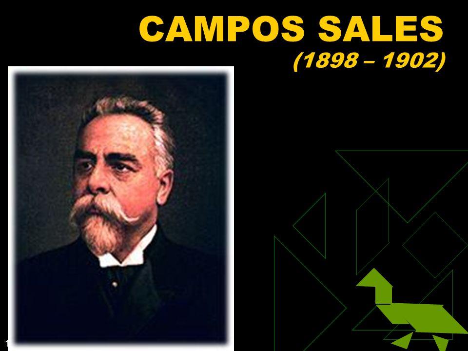 1/15/2014 46 CAMPOS SALES (1898 – 1902)