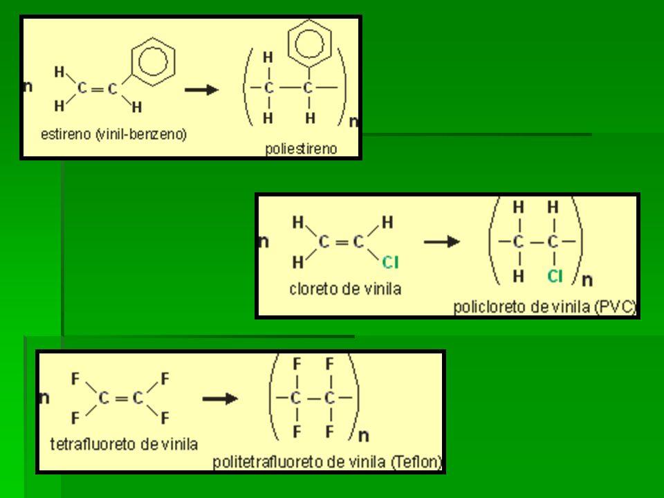 Grau de polimerização É o numero de unidades de repetição (meros) na cadeia polimérica.