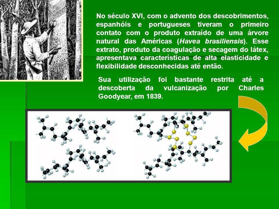 1846: Christiam Schónbien, químico alemão, tratou o algodão com ácido nítrico, dando origem à nitrocelulose, primeiro polímero semi-sintético.