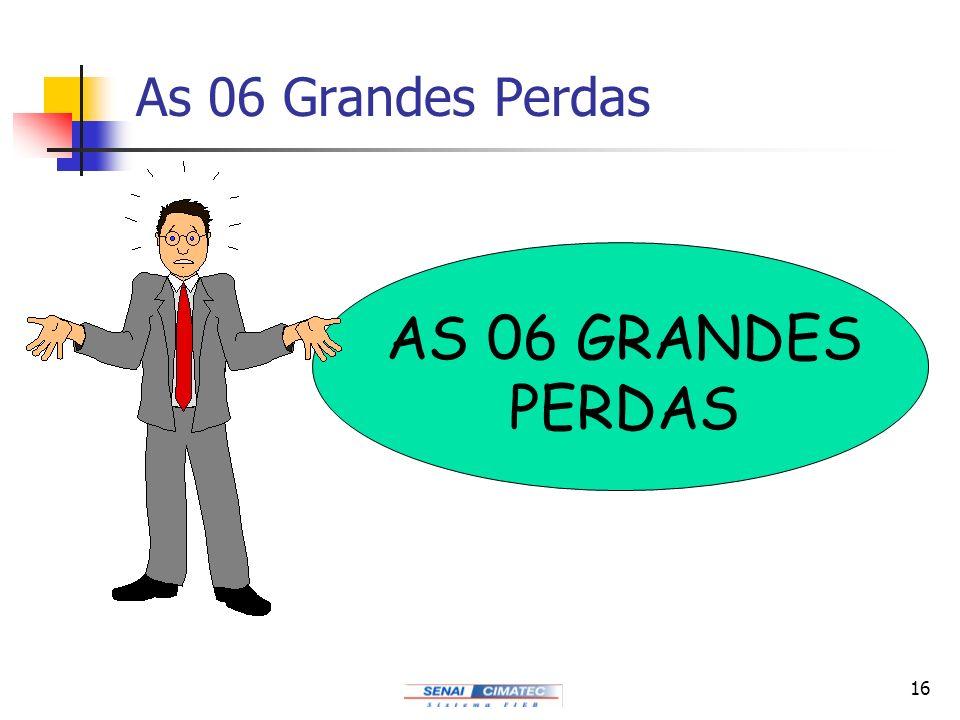 16 As 06 Grandes Perdas AS 06 GRANDES PERDAS