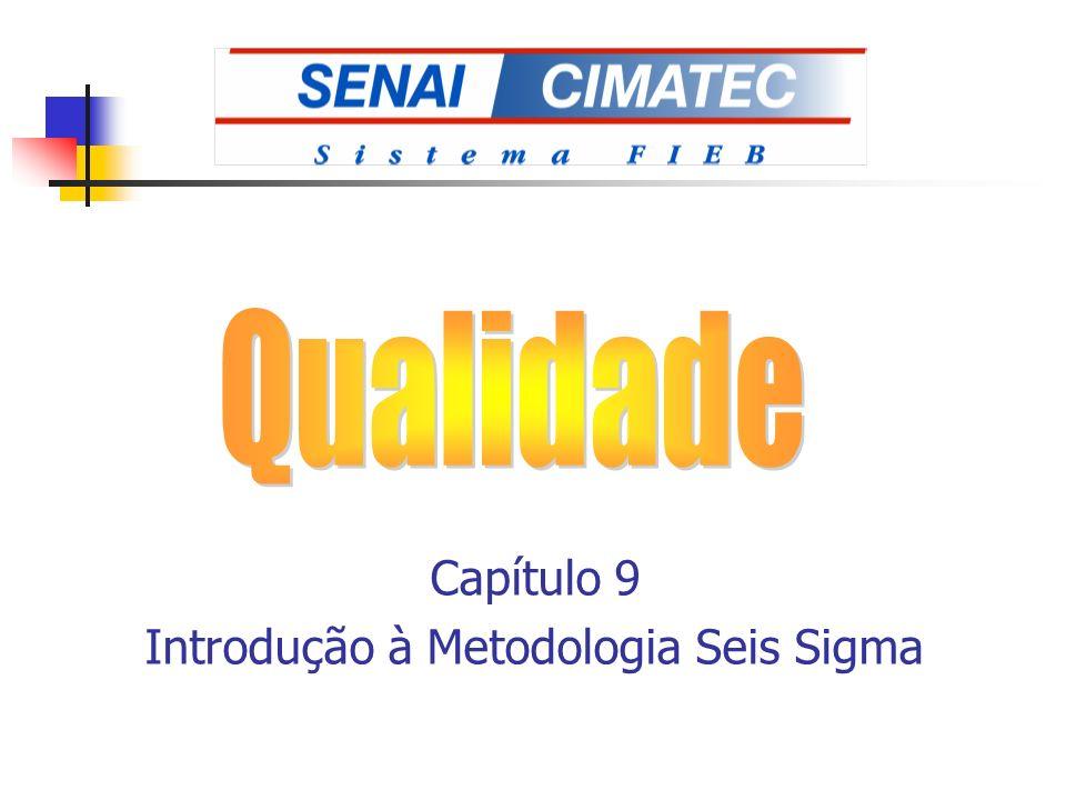 Capítulo 9 Introdução à Metodologia Seis Sigma