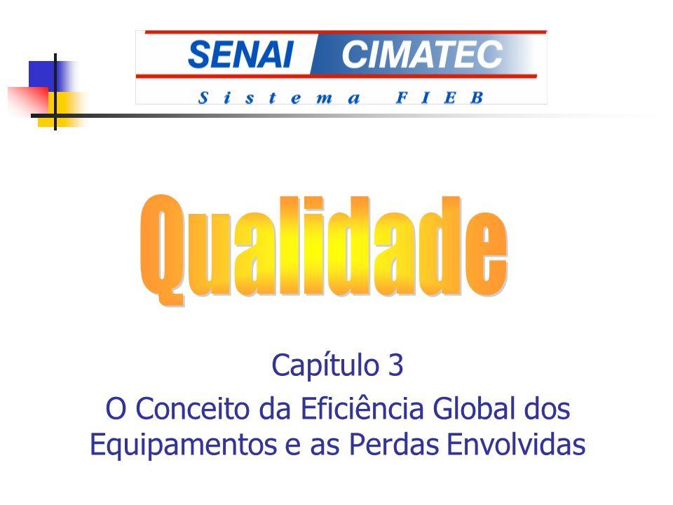 Capítulo 3 O Conceito da Eficiência Global dos Equipamentos e as Perdas Envolvidas