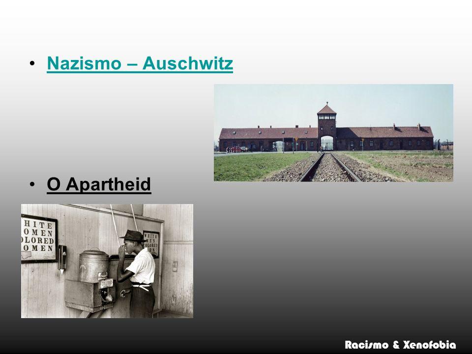 Nazismo – Auschwitz O Apartheid Racismo & Xenofobia