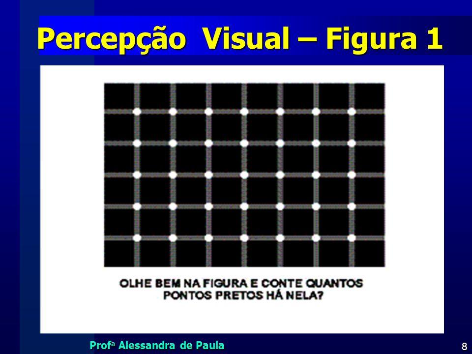Prof a Alessandra de Paula 8 Percepção Visual – Figura 1