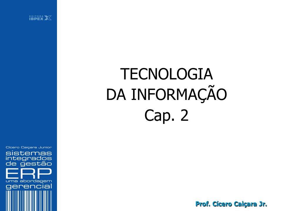 Prof. Cícero Caiçara Jr. TECNOLOGIA DA INFORMAÇÃO Cap. 2