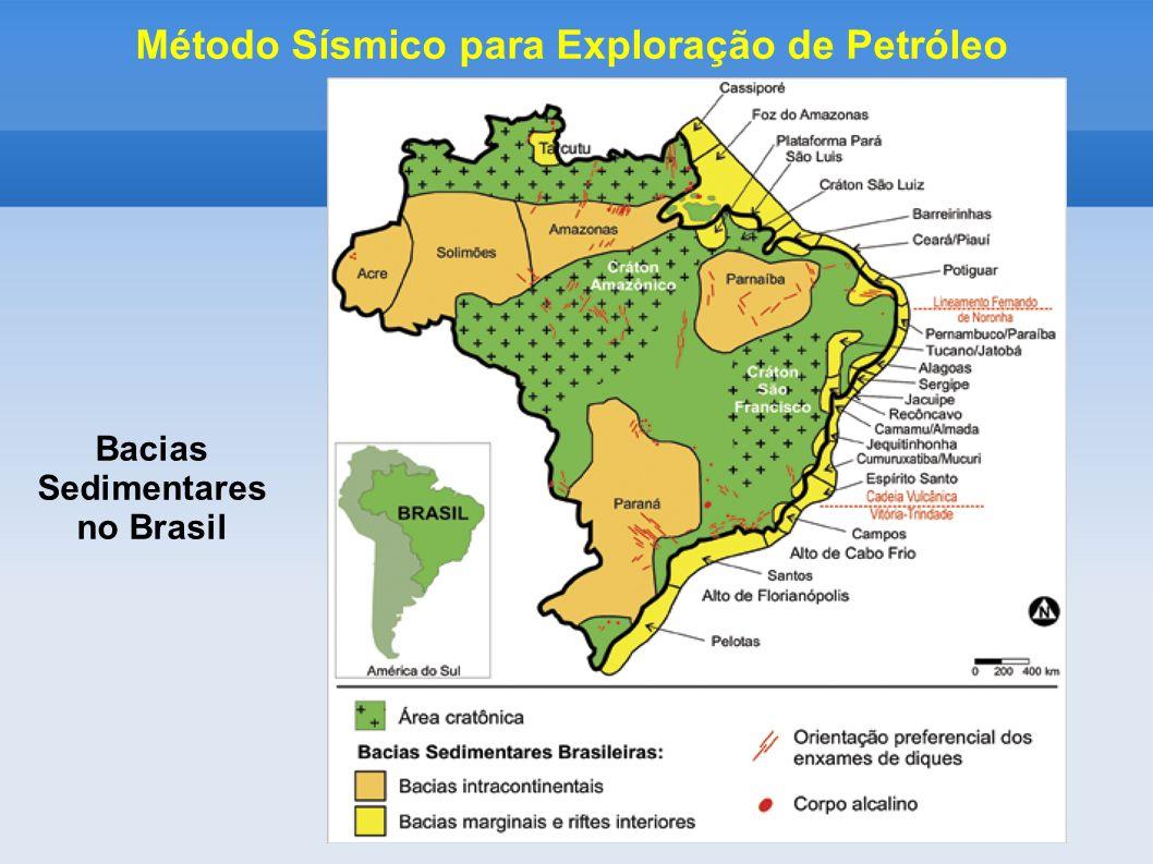 Bacias Sedimentares no Brasil Método Sísmico para Exploração de Petróleo