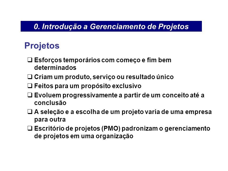 Grupo do Processo de Iniciação –Desenvolvimento da Declaração de Escopo Preliminar do Projeto É uma definição em alto nível do projeto É o processo direciona e documenta o projeto, os requisitos dos produtos, métodos de aceitação e um alto nível de controle do escopo 0.