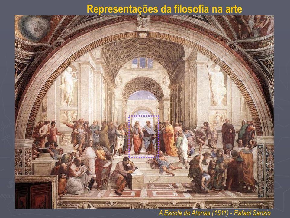 A Escola de Atenas (1511) - Rafael Sanzio Representações da filosofia na arte
