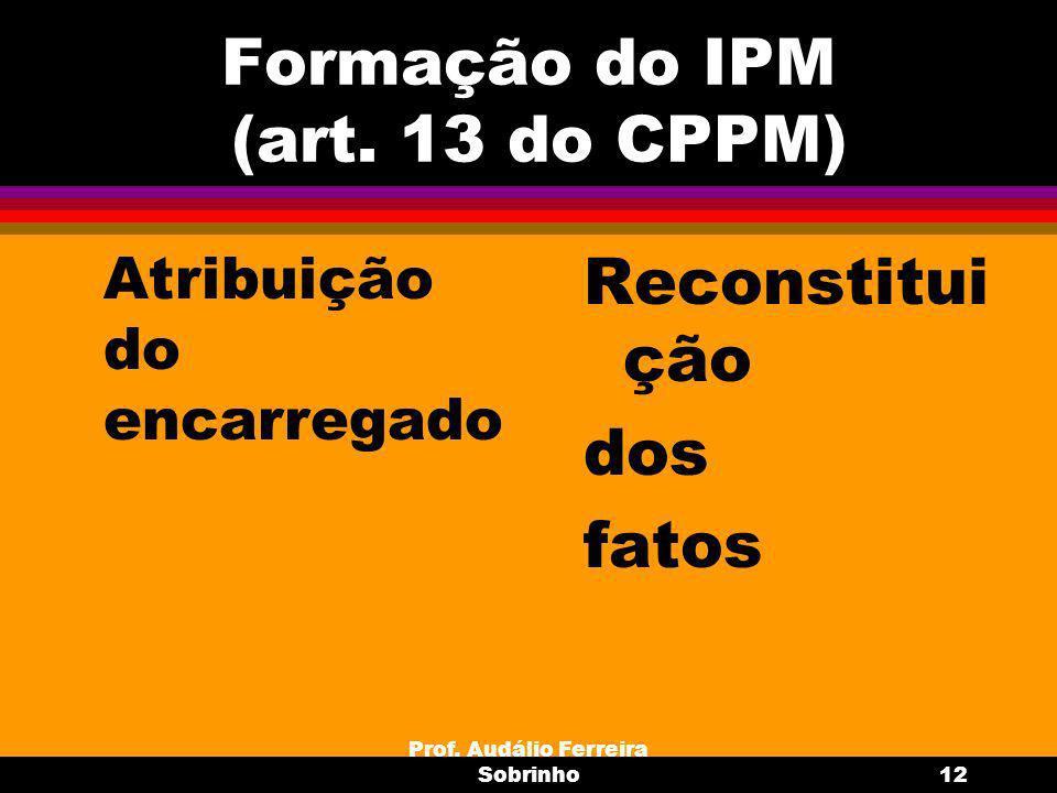Prof.Audálio Ferreira Sobrinho13 Assistência de Procurador (art.